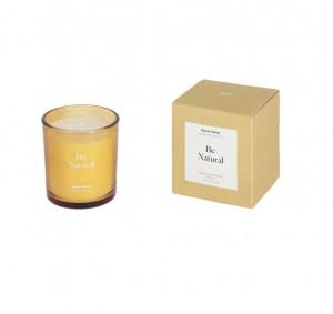 Lumanare parfumata din sticla 8,8 cm Be Natural Kave Home