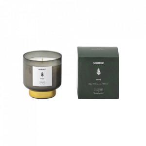 Lumanare parfumata din sticla 9 cm Forest Illume x Bloomingville