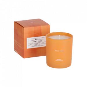 Lumanare parfumata din sticla si ceara 9 cm Fruit Tree Kave Home