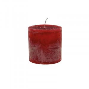 Lumanare rosie din ceara parafinica 10 cm Bert LifeStyle Home Collection