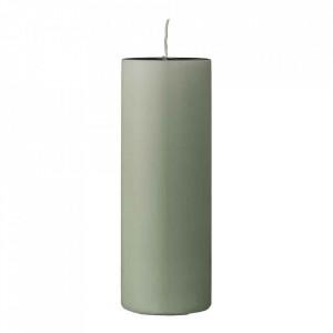 Lumanare verde din parafina 20 cm Pavia Bloomingville