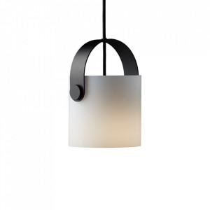 Lustra alba din sticla si metal OOTG Small Frandsen Lighting