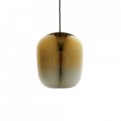 Lustra aurie/gri din sticla Ombre Large Frandsen Lighting