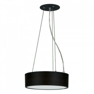 Lustra din plastic si metal cu LED Zigo Wenge Candellux