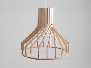Lustra maro din lemn Vega Custom Form