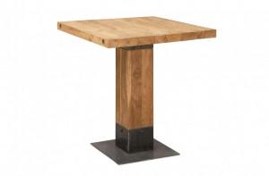 Masa bar din lemn 70x70 cm Teak Versmissen