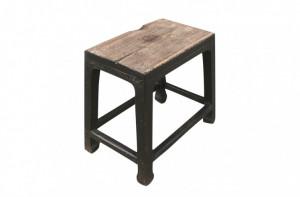 Masa cafea neagra din lemn 46x29cm Shanxi Versmissen