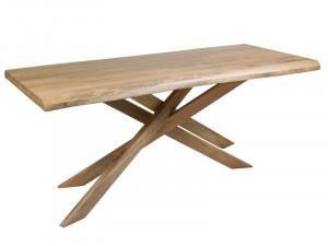 Masa dining din lemn de mango si fier 90x180 cm Fox Santiago Pons