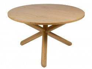 Masa dining din lemn mindi 130 cm Troska Santiago Pons