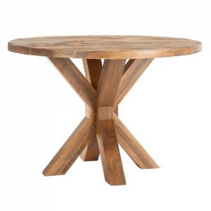 Masa dining maro din lemn de mango 110 cm Erwin Denzzo