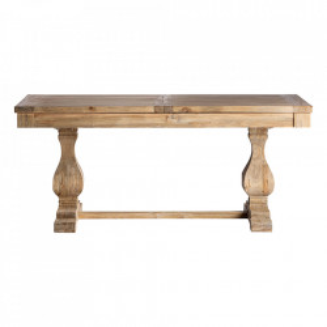 Masa dining maro din lemn de ulm 80x160 cm Berca Vical Home