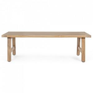 Masa maro din lemn pentru cafea 65x120 cm Ximena Bizzotto