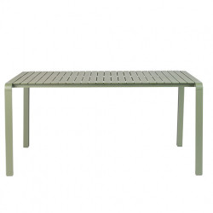 Masa verde din aluminiu pentru exterior 87x168 cm Vondel Zuiver