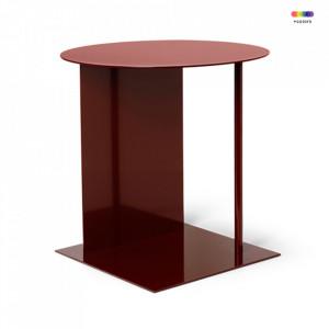 Masuta din metal 39,5x39,5 cm Place Red Brown Ferm Living