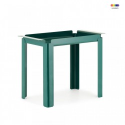 Masuta verde din otel 33x60 cm Box Table Normann Copenhagen