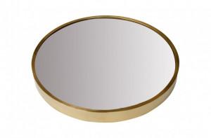 Oglinda aurie rotunda din inox 75 cm Dott Versmissen