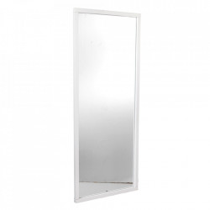 Oglinda dreptunghiulara alba din lemn de mesteacan si MDF 60x150 cm Confetti Rowico Home