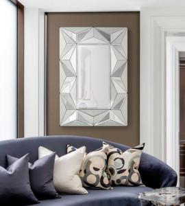 Oglinda dreptunghiulara din sticla 70x105 cm Xinda Giner y Colomer