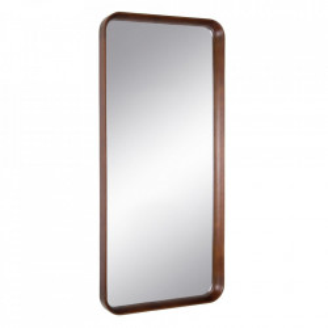 Oglinda maro din lemn de fag si sticla 85x110 cm Evika Ixia