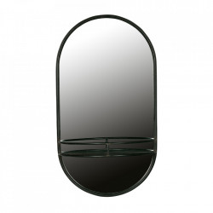 Oglinda neagra din fier 42x76 cm Make Up Be Pure Home