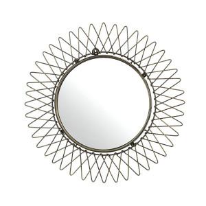Oglinda rotunda din alama 50 cm Sunshine L Pols Potten