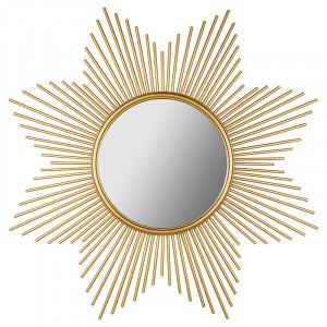 Oglinda rotunda din MDF si fier 90 cm Star Santiago Pons