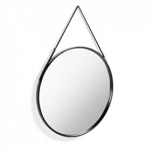 Oglinda rotunda din metal 80 cm Eertrin Large Raintree La Forma