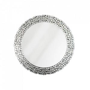 Oglinda rotunda din sticla 80 cm Big Diamonds Invicta Interior