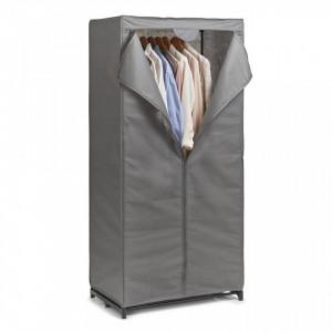 Organizator gri din fleece si metal Textile Cabinet Zeller