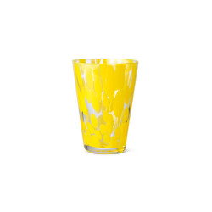 Pahar galben/transparent din sticla 270 ml Casca Ferm Living