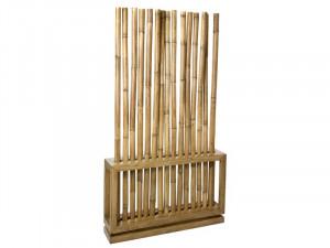 Paravan din lemn mindi 100x179 cm Bamboo Santiago Pons