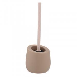 Perie bej nisipiu din ceramica pentru toaleta Kim Wenko
