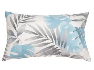 Perna decorativa dreptunghiulara albastra din poliester 30x50 cm Bohemian Santiago Pons