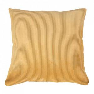 Perna decorativa galbena din textil 45x45 cm Blanca House Nordic