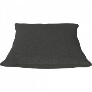 Perna decorativa patrata gri maroniu din textil 50x50 cm Classic Ascot Bolia