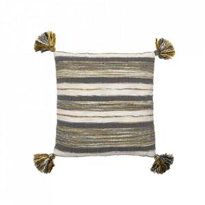 Perna decorativa patrata multicolora din bumbac 50x50 cm Xian Bloomingville