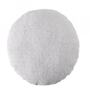 Perna rotunda alba din bumbac pentru podea 50 cm Big Dot White Lorena Canals
