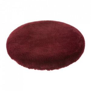 Perna rotunda rosu amarant din poliester pentru sezut 38 cm Mars Unimasa