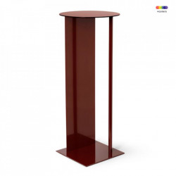 Piedestal din metal 75 cm Place Red Brown Ferm Living