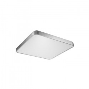 Plafoniera argintie din metal si plastic cu LED Sierra Zuma Line