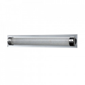 Plafoniera argintie din metal si sticla cu LED Plasma Maytoni