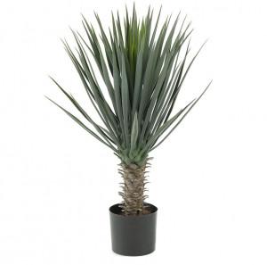 Planta artificiala cu ghiveci din plastic 85 cm Yucca La Forma
