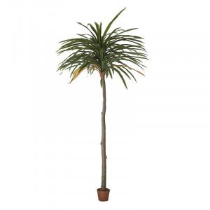 Planta artificiala cu ghiveci din poliester si plastic 360 cm Dracenea Vical Home