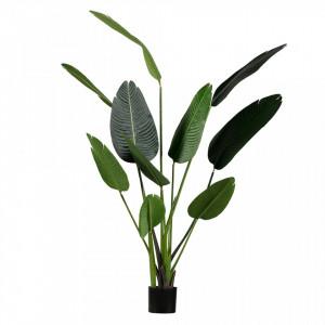 Planta artificiala verde cu ghiveci 164 cm Strelitzia Woood