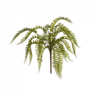 Planta artificiala verde din polietilena 46 cm Branch Fern Unimasa