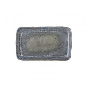Platou albastru din ceramica 18,5x30,5 cm Aura Bloomingville