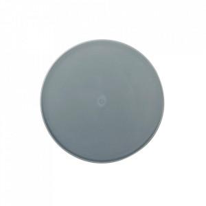 Platou albastru din portelan 21,5 cm Norm Menu