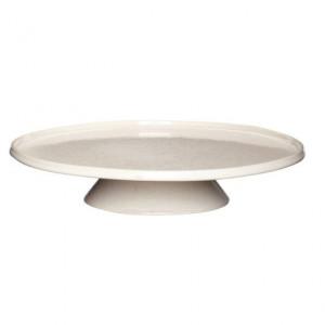 Platou bej din ceramica 32 cm Tetro Hubsch