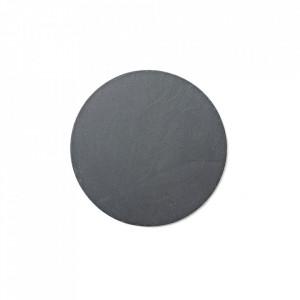 Platou gri din portelan 21,5 cm Norm Menu