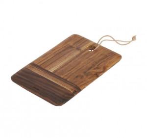 Platou maro din lemn de salcam 20x30 cm Ronli La Forma